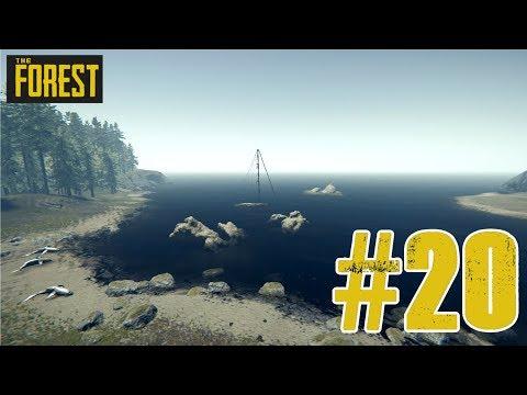 EINE YACHT, EIN KASETTENSPIELER UND EIN UNSICHTBARER RETTUNGSRING!!! | The Forest #20