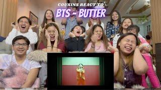 COUSINS REACT TO BTS (방탄소년단) 'Butter' Official MV