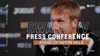 Press Conference: Graham Potter ahead of Aston Villa