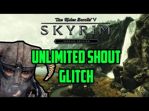 Skyrim Special Editon: UNLIMITED SHOUT GLITCH! Shout to 0
