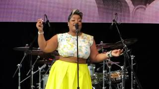 "Anita Wilson: ""That's What He's Done For Me"" - SummerStage Central Park New York, NY 8/9/14"