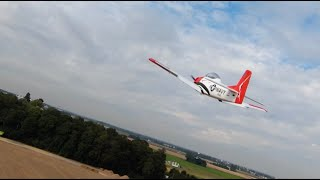 T28 chased by DJI FPV