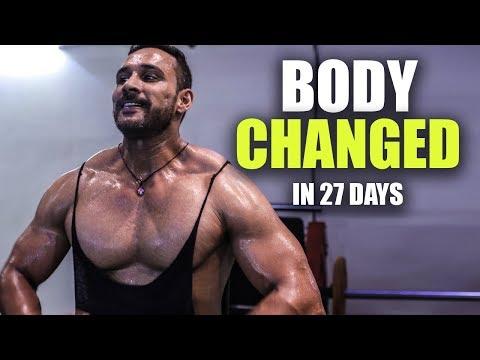 Change ho gayi body | Day 27 of 90 days transformation
