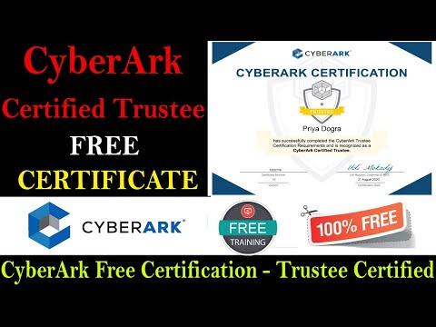 CyberArk Training and Certification Programs- CyberArk Trustee ...