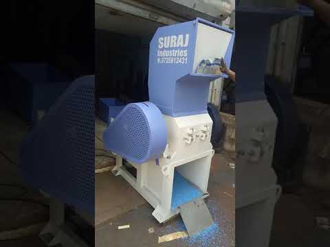 300 KG/HR Plastic Scrap Grinder Machine