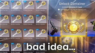 I OPENED CASES Until I UNBOXED A Knife... (bad Idea)