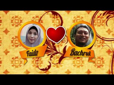 Video Undangan Elektronik Faida & Bachrul  25 September 2016