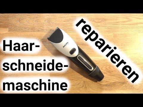 Haarschneider reparieren - Akku tauschen - Motor reparieren