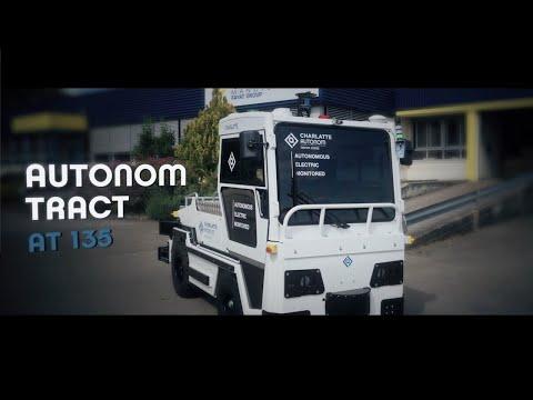 Navyas autonomer Tract AT135 - Video