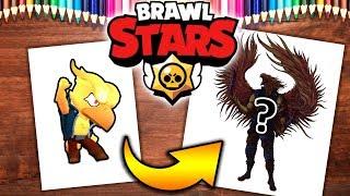Rysuję PHOENIX CROW z BRAWL STARS | BS POLSKA