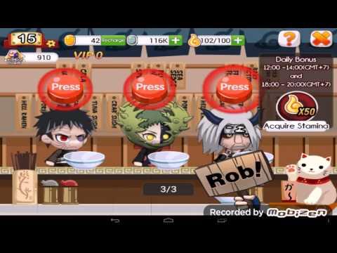 Video Cara mendapat ninja s 100% di ninja heroes