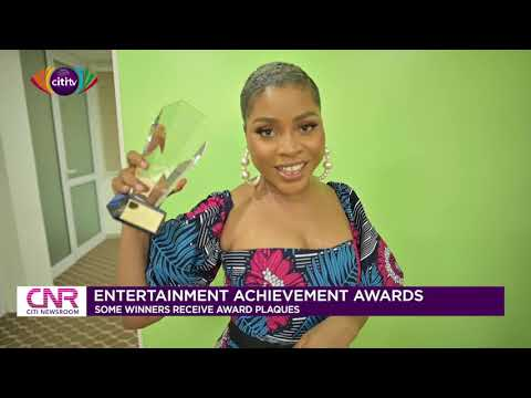 Entertainment Achievement Awards: Some winners receive award plaques | Citi Newsroom