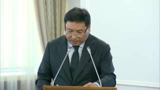 Ерболат Досаев о реализации АО «НУХ «Байтерек» программы «Нұрлы Жол»