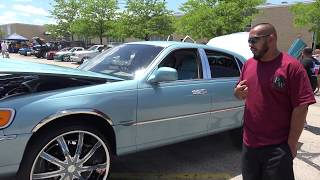 1999 Lincoln Town Car On 24s Free Online Videos Best Movies Tv