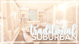 ʚbloxburgɞ traditional blue family suburban ꒰ 115k ꒱🧁🍨