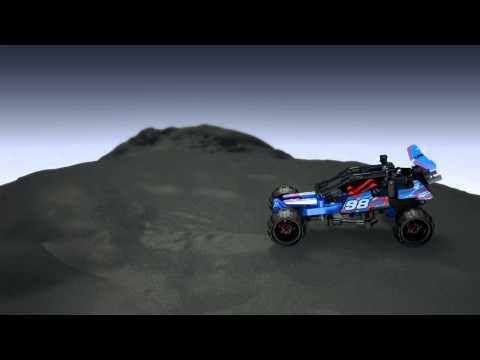 Vidéo LEGO Technic 42010 : Le buggy tout-terrain