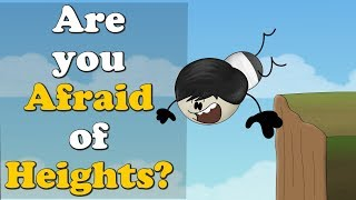 Are you Afraid of Heights? | Vertigo | #aumsum #kids #acrophobia #science #vertigo