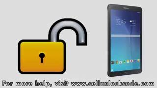 How to Unlock Any Samsung Galaxy Tab E Using an Unlock Code