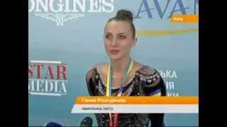 Международный скандал на Чемпионате мира в Киеве. Украинка остановила государственный гимн