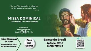Missa ao vivo: Igreja Matriz São José - Cacimbas PB