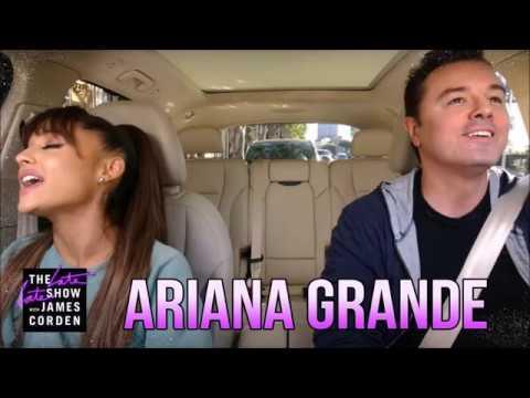 Ariana Grande & Seth MacFarlane Carpool Karaoke