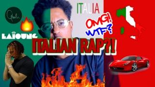 FIRST REACTION TO ITALIAN RAP HIP HOP