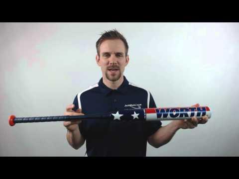 2016 Worth Liberty Balanced USSSA Slow Pitch Softball Bat: SBLIBB