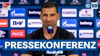 Die Pressekonferenz auf Schalke 04