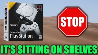 The PlayStation Classic Isn't Selling So Well...