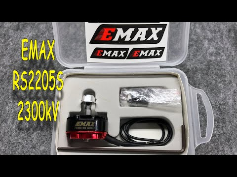Emax RS2205S 2300KV - Racing Edition Brushless Motor for RC Drone