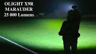 Olight X9R Maraude - відео 1