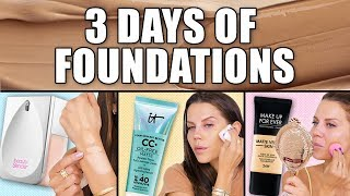 TESTING THE MOST OVERHYPED FOUNDATIONS