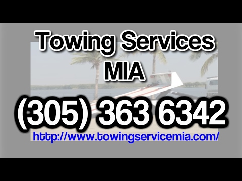 Miami Beach Florida Towing Services