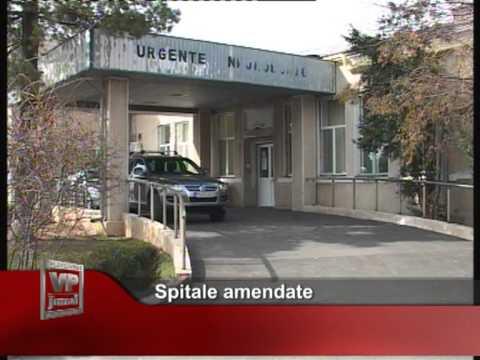 Spitale amendate