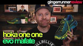 HOKA ONE ONE EVO MAFATE REVIEW | The Ginger Runner