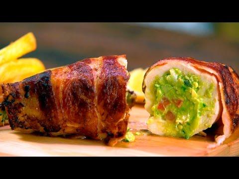 Receta de Pollo Relleno con Guacamole | Recetas Rápidas