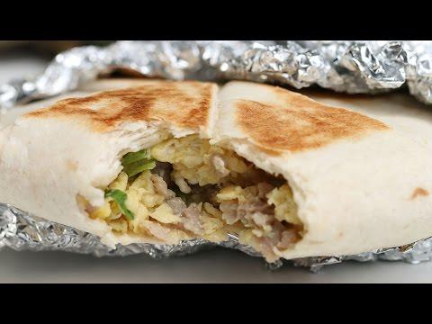 Video To-Go Breakfast Quesadilla