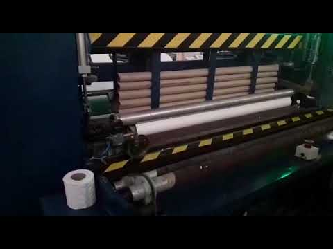 Fully Automatic Toilet Paper Roll Making Machine