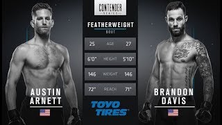 FREE FIGHT | Davis Wins Incredible Fight | DWTNCS Week 4 Contract Winner - Season 1