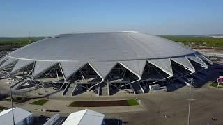 Стадион Самара Арена 14.05.18(4K)