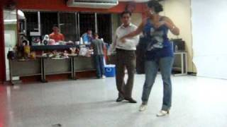 dancing with Cristian
