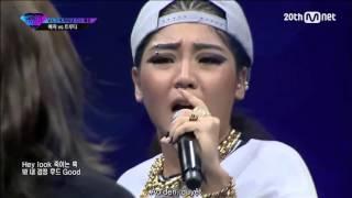 Vietsub Unpretty Rapstar Ep.6 Truedy vs Yezi