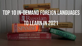 Top 10 in-demand Foreign Languages to Learn in 2021 - Most Spoken & Useful Languages