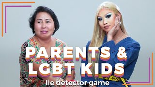 Parents And Their LGBT Kids Play A Lie Detector Drinking Game | Filipino | Rec•Create