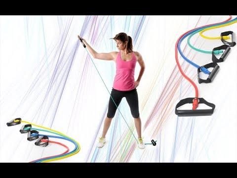 Trainingsband Übungen mit dem Bodytube Teil 1