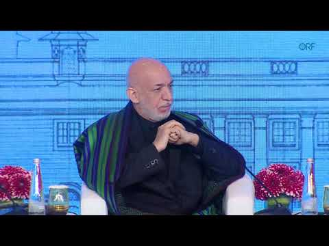 In Conversation: Hamid Karzai on US Presence in Afghanistan | Raisina Dialogue 2020 | Robin Niblett