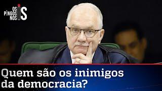 Fachin diz que a democracia está sob ataque