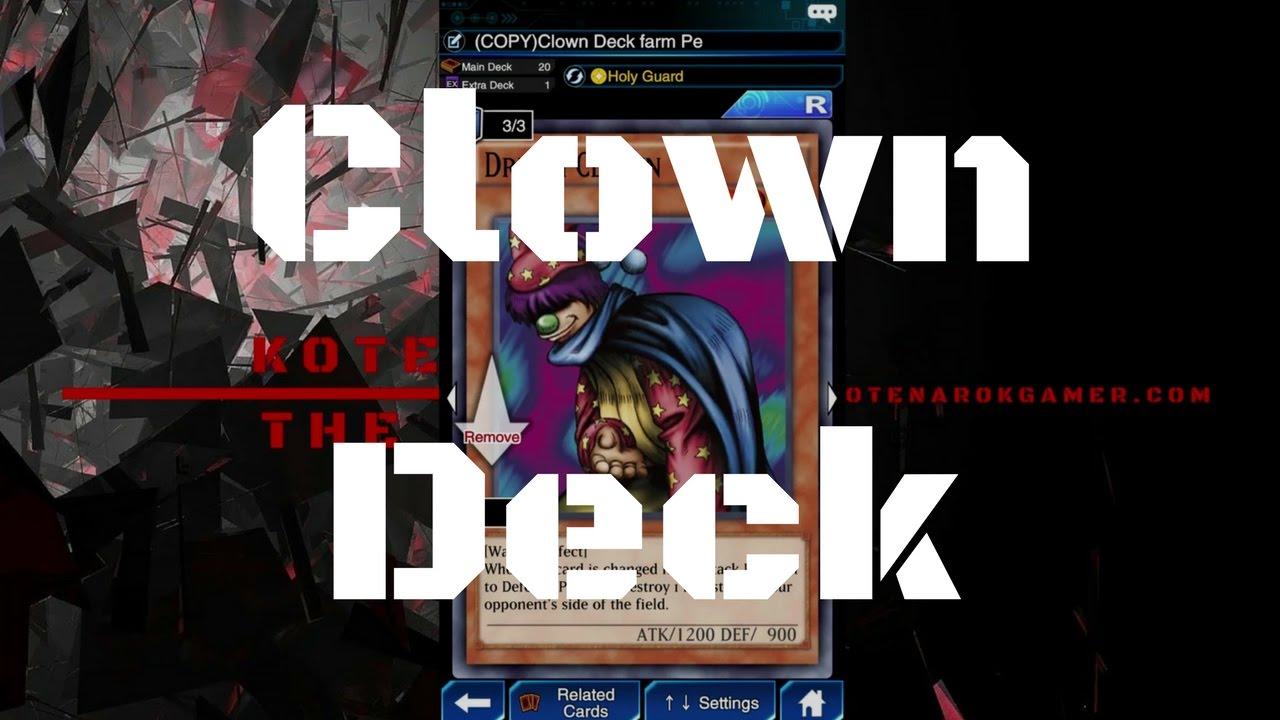 [Deck] Clown Deck สำหรับฟาร์มเพกาซัส