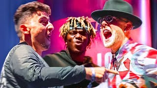 CONFRONTING JAKE PAUL AT KSI v LOGAN PAUL PRESS!!!