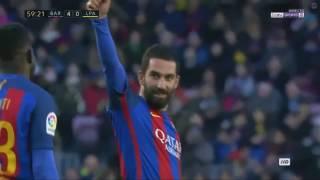 Arda Turan Goal Barcelona vs Las Palmas 14/1/2017 HD